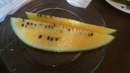 Sweet Golden Watermelon
